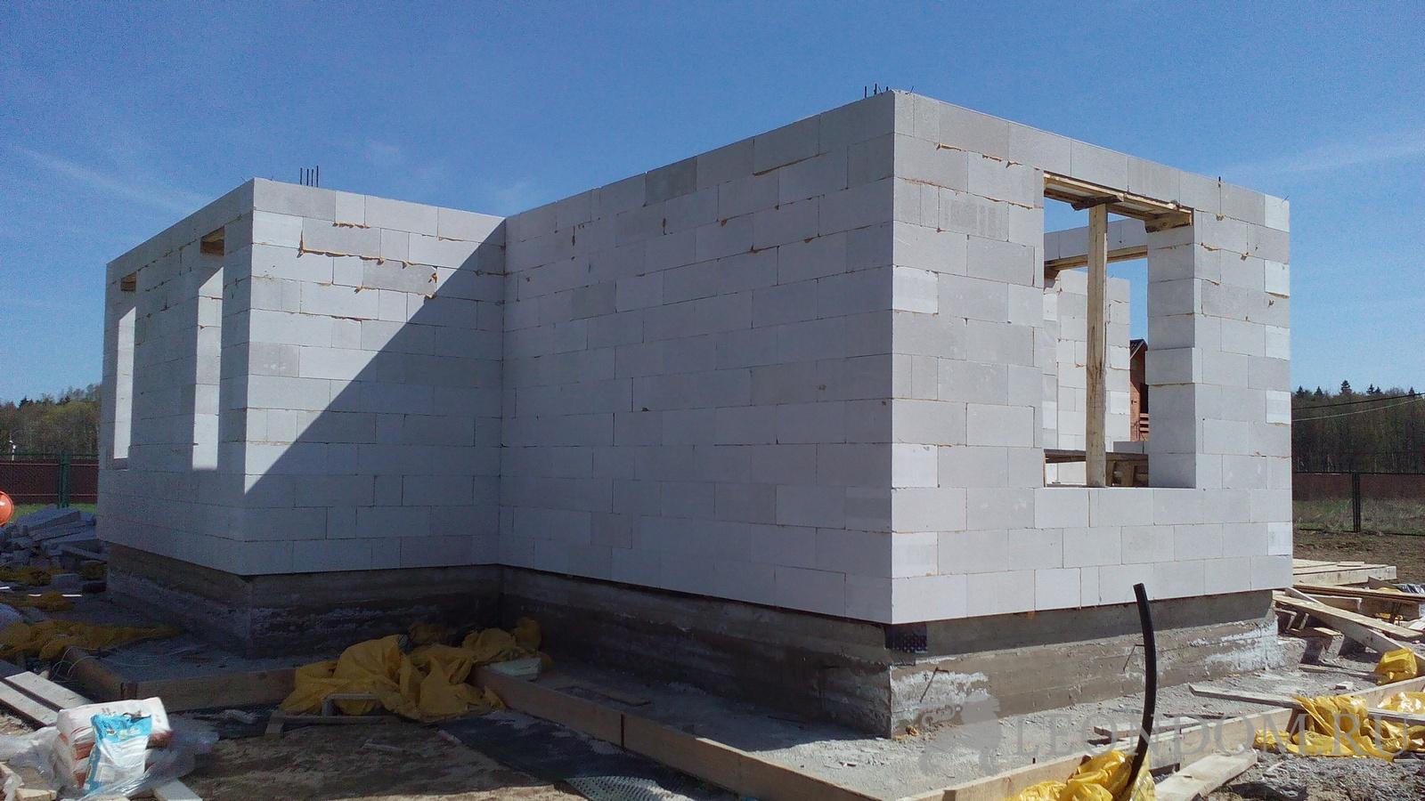 домов блоков руками из проекты своими